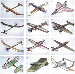 авиамодели фото свободнолетающие